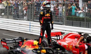 Ailing Daniel Ricciardo holds on for Monaco 'redemption'