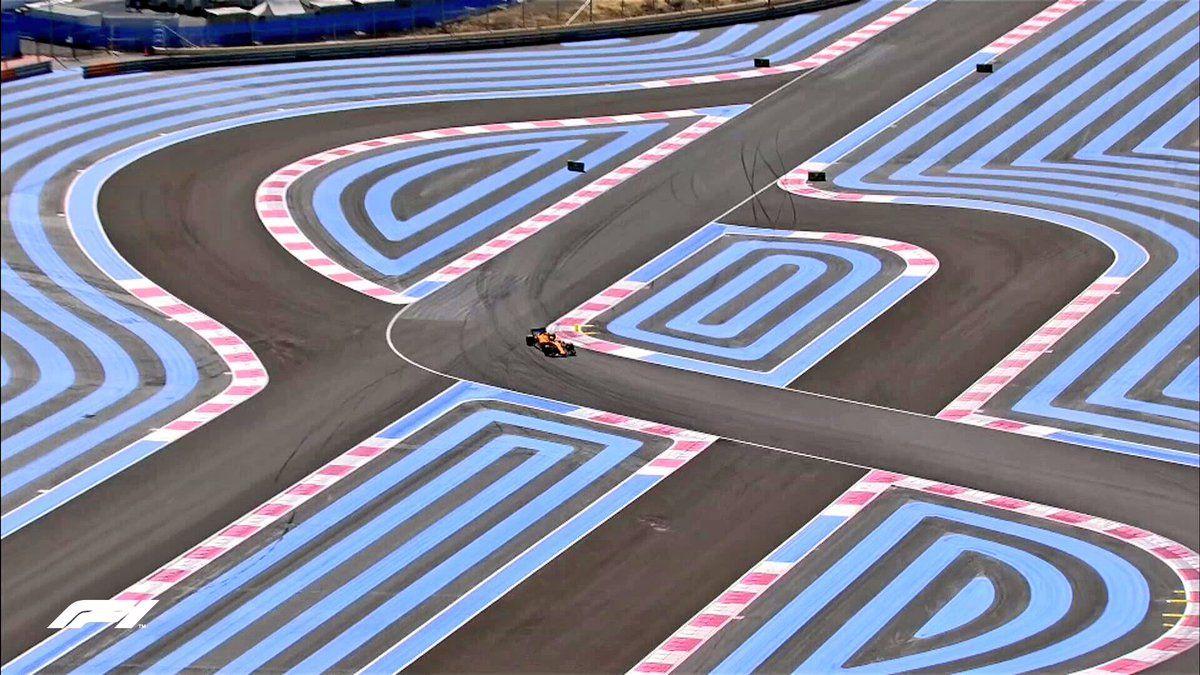 Circuit Paul Ricard >> Racing Lines And Confusing Lines At Paul Ricard