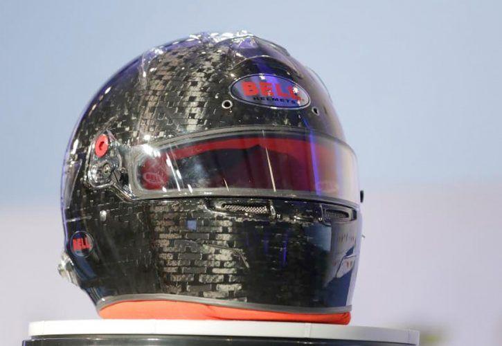 The FIA's prototype of the new FIA 8860-2018 helmet standard