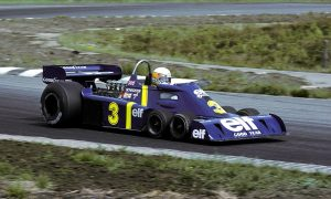 Scheckter offers Tyrrell six-pack its single success