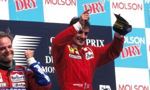 Birthday boy Jean Alesi's maiden and only F1 win
