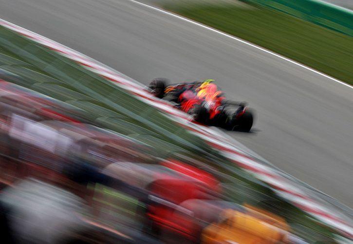 Max Verstappen (NL), Red Bull Racing. Circuit Ile Notre Dame.