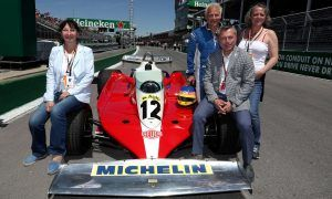 A tribute in pictures:  Jacques Villeneuve on-board his father's Ferrari T3