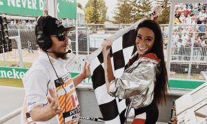 Checkered flag fiasco 'not my fault' says Winnie Harlow