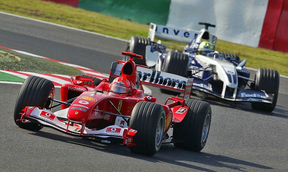 Look Back At Michael Schumacher S F2004 A True Collectors Item