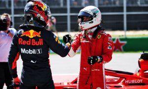 Verstappen still happy despite missing out on pole