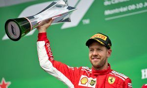 Vettel celebrates an emotional Ferrari victory in Canada