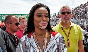 Brawn apologises to Winnie Harlow for chequered flag debacle