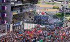 Podium celebrations. 16-17.06.2018. FIA World Endurance Championship, Le Mans 24 Hours, Race