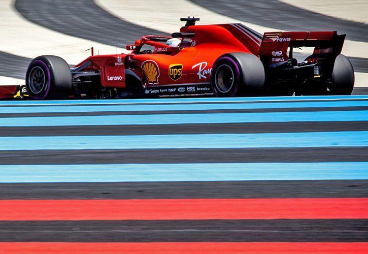 Sebastian Vettel (GER) Ferrari SF71H. 22.06.2018