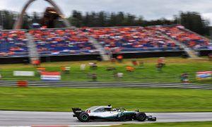 Hamilton and Bottas keep FP2 locked down for Mercedes