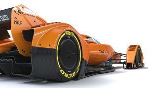 Gallery: McLaren puts a twist on its F1 concept car