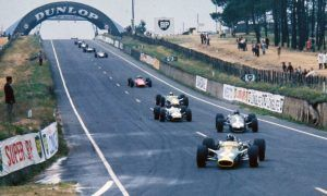 Back when Formula 1 visited Le Mans