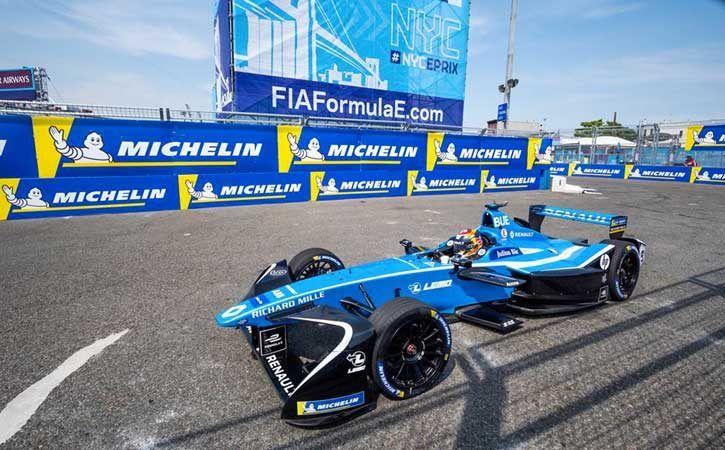 Renault e.Dams; Sebastien Buemi in the New York City ePrix