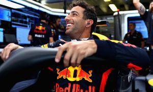 'Nice to finish on a high', says one happy Ricciardo