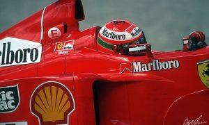 Ferrari's Eddie Irvine picks up the mantle