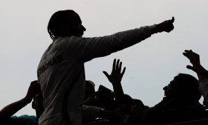 Hamilton plays Jesus, confuses F1 and Hollywood - Villeneuve