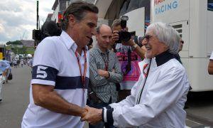 Former team boss and driver meet again