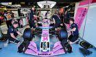 Nicholas Latifi (CDN) Sahara Force India F1 VJM11 Development Driver.