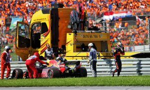 Ricciardo feeling blue after birthday blow-out in Austria