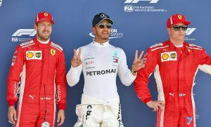 Hamilton takes record sixth pole at Silverstone
