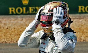 Hamilton dedicates 'intense' record pole to home fans