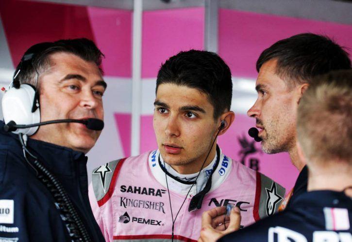 Esteban Ocon (FRA) Sahara Force India F1 Team.