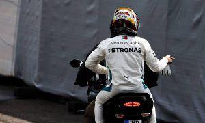 Hydraulic failure in qualifying sends Hamilton down the order