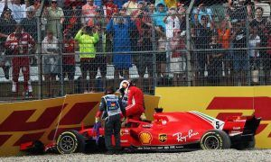 Vettel's crash 'one of the darkest moments' in his career - Rosberg