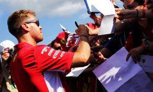 'One of our better Fridays', says Sebastian Vettel