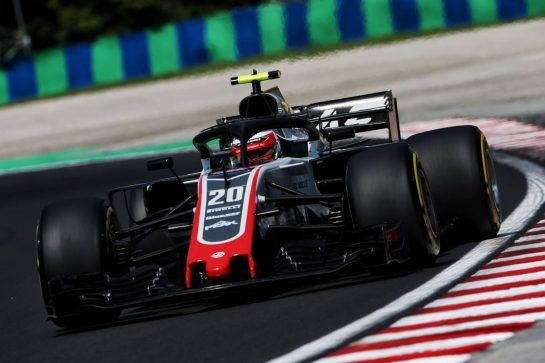 Kevin Magnussen (DEN) Haas VF-18.