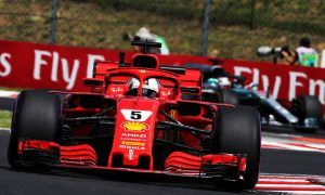 Vettel edges Verstappen in second Hungary practice