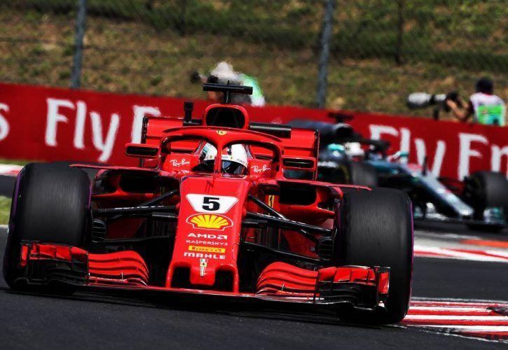 Hungarian Grand Prix: Sebastian Vettel (GER) Ferrari SF71H. 20.07.2018