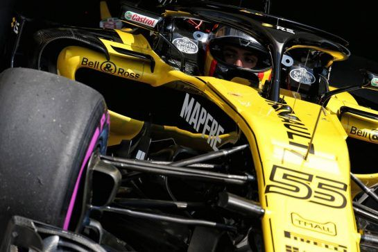 Carlos Sainz Jr (ESP) Renault Sport F1 Team RS18. 28.07.2018. Formula 1 World Championship, Rd 12, Hungarian Grand Prix, Budapest, Hungary, Qualifying Day.  - www.xpbimages.com, EMail: requests@xpbimages.com - copy of publication required for printed pictures. Every used picture is fee-liable. © Copyright: Bearne / XPB Images