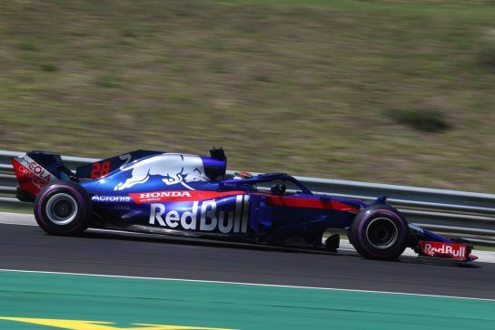 Brendon Hartley (NZ) Scuderia Toro Rosso 28.07.2018. Formula 1 World Championship, Rd 12, Hungarian Grand Prix, Budapest, Hungary, Qualifying Day.- www.xpbimages.com, EMail: requests@xpbimages.com - copy of publication required for printed pictures. Every used picture is fee-liable. © Copyright: Charniaux / XPB Images