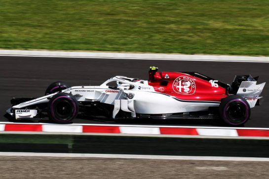 Charles Leclerc (MON) Sauber F1 Team C37. 28.07.2018. Formula 1 World Championship, Rd 12, Hungarian Grand Prix, Budapest, Hungary, Qualifying Day. - www.xpbimages.com, EMail: requests@xpbimages.com - copy of publication required for printed pictures. Every used picture is fee-liable. © Copyright: Photo4 / XPB Images