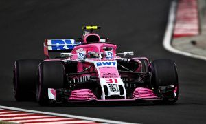 Ocon laments brake issue after Force India falters in Q1