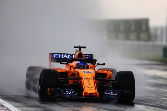 Fernando Alonso (ESP) McLaren MCL33. 28.07.2018. Formula 1 World Championship, Rd 12, Hungarian Grand Prix, Budapest, Hungary, Qualifying Day. - www.xpbimages.com, EMail: requests@xpbimages.com - copy of publication required for printed pictures. Every used picture is fee-liable. © Copyright: Photo4 / XPB Images