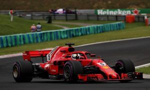 Vettel unconcerned despite missing out on pole