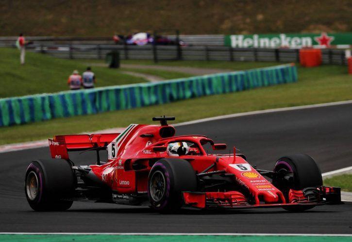 Hungarian Grand Prix: Sebastian Vettel (GER) Ferrari SF71H. 28.07.2018.