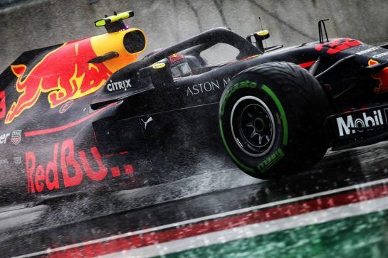 Max Verstappen (NLD) Red Bull Racing RB14. 28.07.2018. Formula 1 World Championship, Rd 12, Hungarian Grand Prix, Budapest, Hungary, Qualifying Day.  - www.xpbimages.com, EMail: requests@xpbimages.com - copy of publication required for printed pictures. Every used picture is fee-liable. © Copyright: Bearne / XPB Images