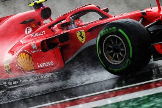 Kimi Raikkonen (FIN) Ferrari SF71H. 28.07.2018. Formula 1 World Championship, Rd 12, Hungarian Grand Prix, Budapest, Hungary, Qualifying Day.  - www.xpbimages.com, EMail: requests@xpbimages.com - copy of publication required for printed pictures. Every used picture is fee-liable. © Copyright: Bearne / XPB Images