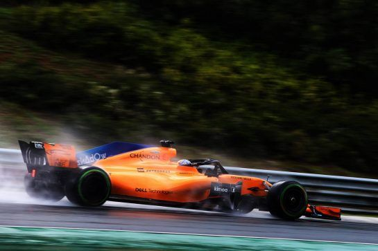 Lando Norris (GBR) McLaren MCL33 Test Driver. 31.07.2018. Formula 1 Testing, Budapest, Hungary. - www.xpbimages.com, EMail: requests@xpbimages.com - copy of publication required for printed pictures. Every used picture is fee-liable. © Copyright: Charniaux / XPB Images