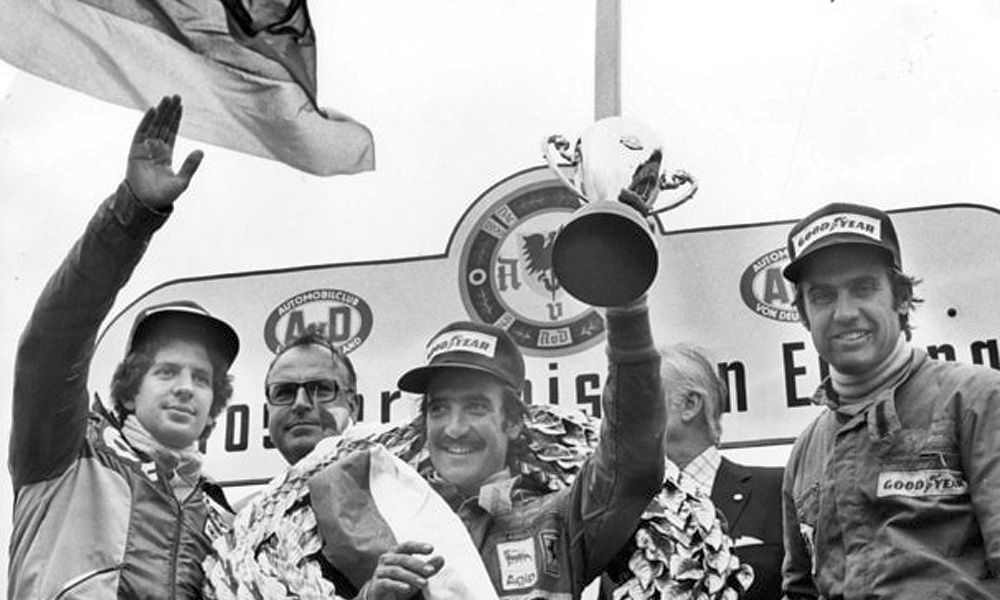 1974 German Grand Prix - Clay Regazzoni
