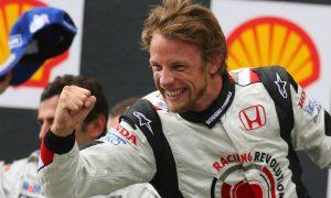 Jenson Button finally breaks his duck!