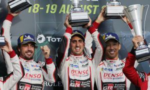 Toyota and Alonso make it three in a row at Silverstone!