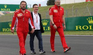 Ferrari boss Camilleri ready to 'contribute' to talks with Liberty