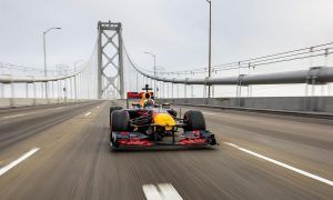 A massive road trip in an F1 car? Ricciardo is game!
