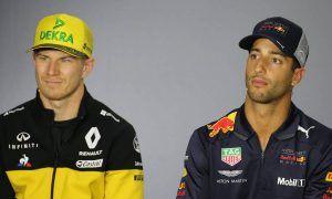 Perez predicts 'hard time' for Ricciardo alongside Hulkenberg