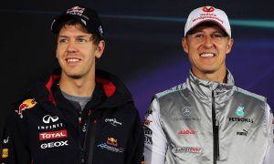 Hakkinen: Vettel 'controled' style just like Schumacher